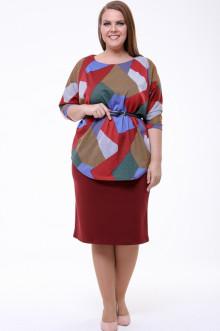 Блуза 1830-632 Грация Стиля (Красный)