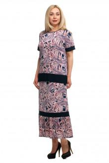 Блузка+юбка 1711004/1 ОЛСИ (Сиреневый)